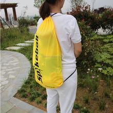 Jumbo polyester sports drawstring bag/ball bag/foldable polyester eco bag