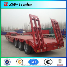 2015 Low price new design low bed/lowbed semi trailer for sale