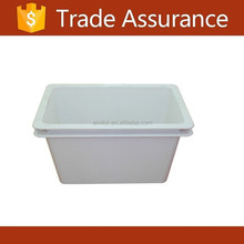 SMC fiberglass white flower pot,plant pot good quality garden flower pot
