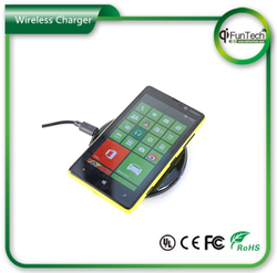 2015 hot selling and most popular MP01 wireless mobile phone battery charger with CE certificate