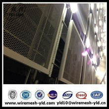 Vinyl coated curtain wall decorative expanded metal mesh