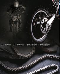 [Motorcross Chain] for 400cc motorcross, motorcycle, cross bike