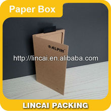 Tempered glass paper package for different screen protector,Package Box