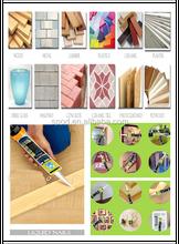 silicone sealant, adhesive sealant, silicone glue stick
