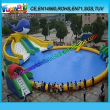 2015 Interesting Inflatable Aqua Park / inflatable Aqua Sport /inflatable Water Games for Adult