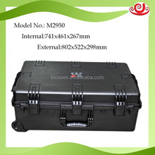 Tricases M2950 handle With Wheels Waterproof Plastic Case For Equipment