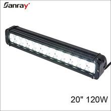 20 inch 120W offroad led driving light, 12V led work light bar for 4x4