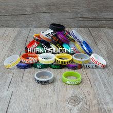 Promotional 2015 E cigarette accessories atomizer or mod vape band oem rubber product vape band customized vape band silicon