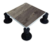 Temporary Floors with hollow pedestals waterproof for Saltwater Resistant place