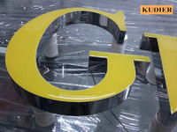 High Luminance Acrylic High Bright Epoxy Resin Sign Color Outdoor Advertising Light Led Letter