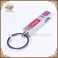 hot sale souvenir custom printed keychain bottle opener