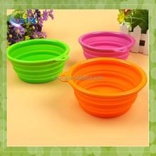 suction cup pet bowl Foldable Pet Bowls For Travel