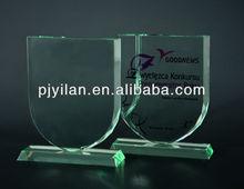 unique cheap glass new design glass trophy award