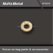 High quality rose gold stainless steel eyelets and grommets manufacturer