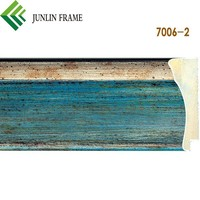 Wholesale pine wood carved handmade painting frame moulding