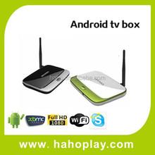 Android 4.4 External Antenna Google TV Box USB 2.0,Quad Core GoogleTV Box 2GB RAM 8GB ROM