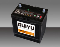 55B24L 12v50AH sealed maintenance free car battery high quality