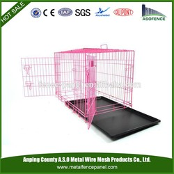 alibaba china hot sale heated dog kennel / dog box used kennel( Factory & ISO9001 )