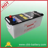 Dry charged Battery lead acid car battery storage baterie N135 12V Koyama brand