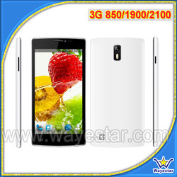 5.5 inch MTK6582 Dual Sim 3G 850/1900/2100 MHZ Mobile Phone in USA