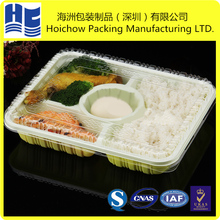2 3 4 5 multi compartments takeaway lunch fast food bento box packaging