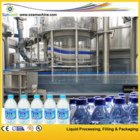 Pure Water Making Machine / Drink Water Complete Production Line