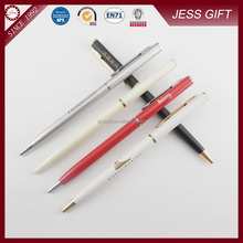 Customised logo metal hotel pen made in china pen factory