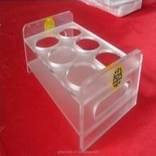 GH-RZ551 Smooth and shinning fashional design clear acrylic dispaly rack ,top grade acrylic display rack
