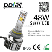 LED headlight HB4/9006 power auto led lighting new high brightness