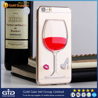 GGIT Red Wine Goblet Design Cellular Soft TPU Phone Case For iPhone6