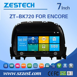Zestech multimidea 2 din 7 inch car dvd player For BUICK ENCORE support SWC DVR Phone book 3G Wifi Mp3 /4