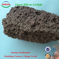 Green Silicon Carbide Block/ Granule Green Color used for function ceramics