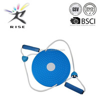 Waist twisting disc with rope/Magnetic Figure Trimmer Wist Board for Fitness and Exercise