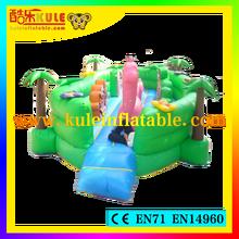 Guangzhou Kule cheaper price high quality inflatable fun city china inflatable bounce house fun city amusement