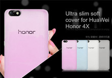 Wholesale New TPU 0.3MM Ultra slimTransparent back cover for Huawei Honor 4X,Cheap Silicon soft cases for Huawei Honor 4X