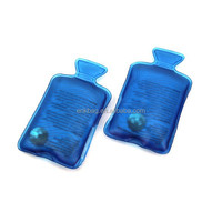 Hot water bag shape reusable snap hand warmers