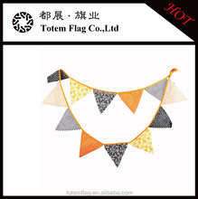 Halloween Vintage Fabric Flag Buntings Party Decoration