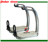 SS peacock stirrup with rubber pad,horse stirrup,horse product(ST2105)