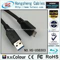 2015 3.0 usb hembra cable proveedor