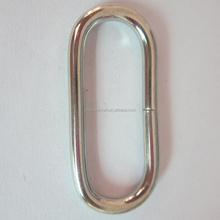 Larga ojales de forma ovalada hebilla de cinturón hebillas , los accesorios del bolso