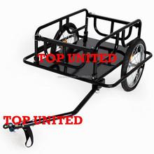 Folds up Flat Bicycle Cargo Dog Trailer