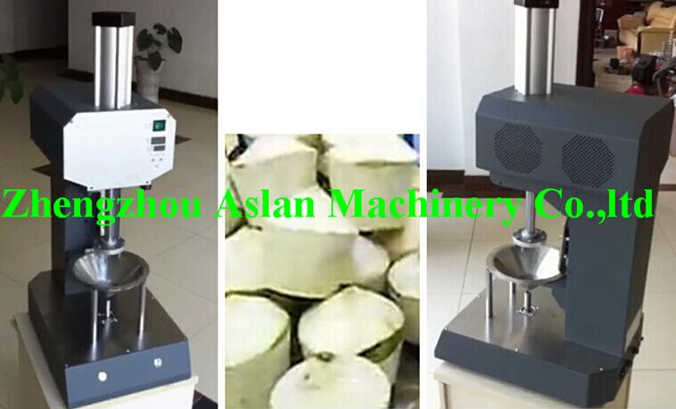 coconut peeling machine