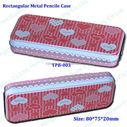 160*95mm mold Tinplate Packing pencil box