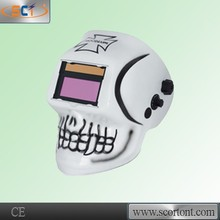 Hot sale CE approval HDPP(Fireproof) solar auto darkening custom welding helmet