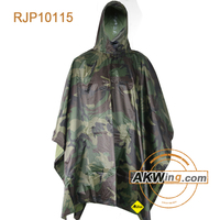 Genuine Military Shelter Half Turns Into Rain Poncho Ultimate Survival Army