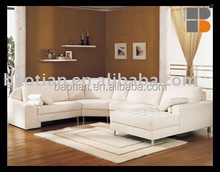 2015 Lingroom Furniture Set Cotton Fabric corner Couch big U shape