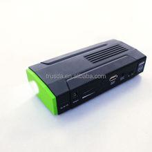 Mini Portable Car Jump Starter Full 12800 mAh with LED Flashlight SOS Mode