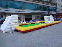 2013 inflatable soap football field,inflatable football pitch