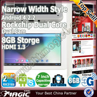 2014 china cheapest tablet pc 7 inch android 4.0 1.2ghz 512mb ram 8gb Dual Core HDMI Adobe Flash11