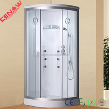 ABS back no seat shower enclosure for bathroom CW-667